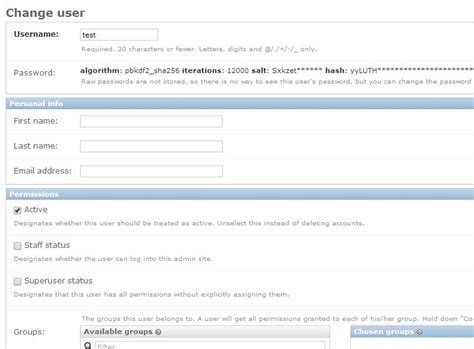 creating django user python django creating user account manually stack