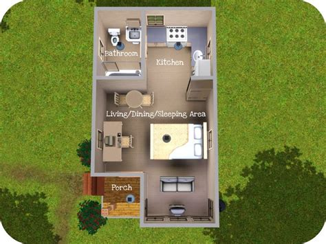 Floor Plans For Small Houses by Mod The Sims A Tiny House Experiments In Micro Living