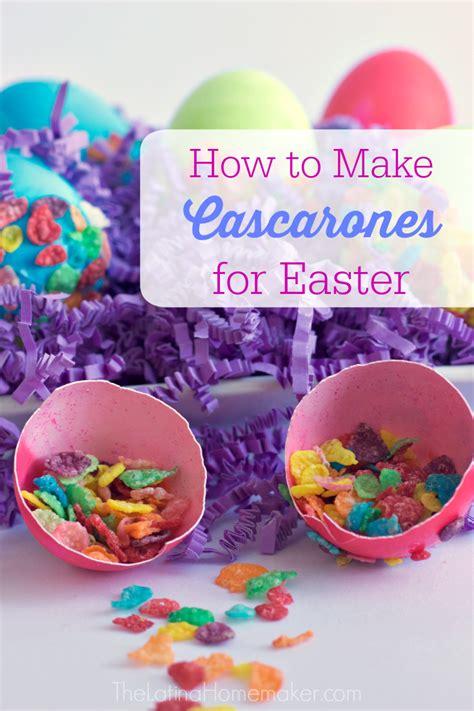 for easter how to make cascarones for easter the homemaker