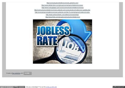 unemployment mi extension unemployment extension california federal unemployment