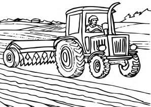Coloriage Tracteur Tondeuse &224 Colorier  Dessin Imprimer sketch template