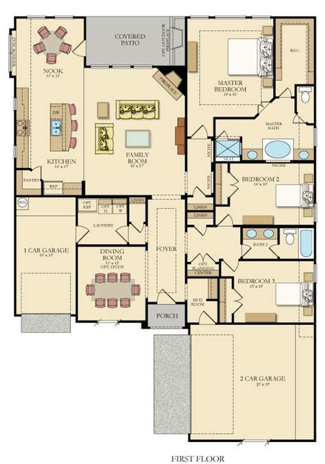 great one story 7645 3 bedrooms and 2 5 baths the best 25 one story homes ideas on pinterest great rooms
