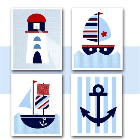 free printable nautical wall art nautical nursery wall art instant download printable