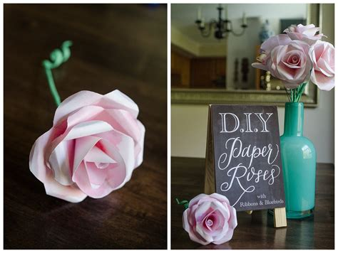 How To Make Roses With Paper - diy tutorial how to make a water color paper