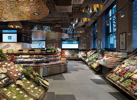 inside decor amazing supermarket in vienna commercial interior design
