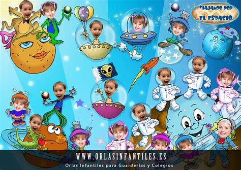 plantillas gratis orlas para guarderias apexwallpaperscom orlas infantiles 187 viajando por el espacio