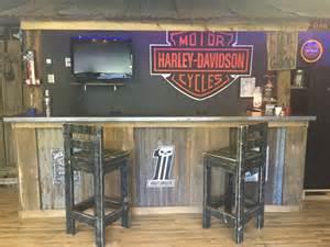 Garage Bar Ideas Garage Bar Cave Basement Bars Rustic Bar Harley