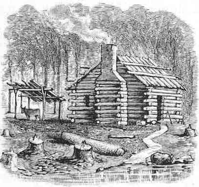 boat us foundation kansas how to build a log cabin just like the pioneers did off