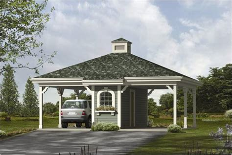 Two Car Garage With Carport pdf diy two car garage with carport plans window