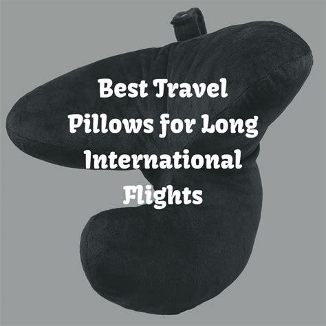 5 best travel pillows for international flights