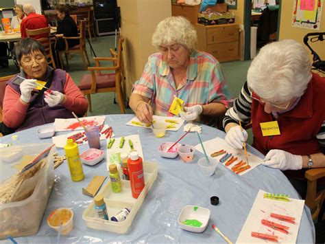 craft projects for seniors arts and crafts renfrew collingwood seniors society