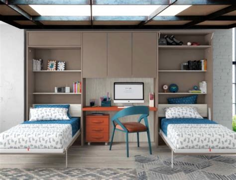 camas abatibles merkamueble c 243 mo ganar espacio en el dormitorio con camas abatibles