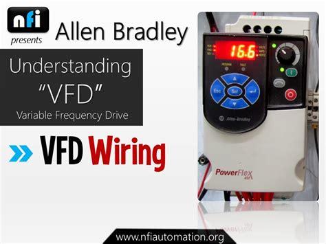 allen bradley powerflex 4m understanding vfd wiring