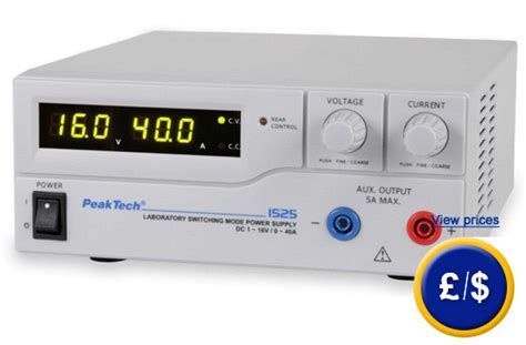 bench top power supplies bench top power supply pkt 1525