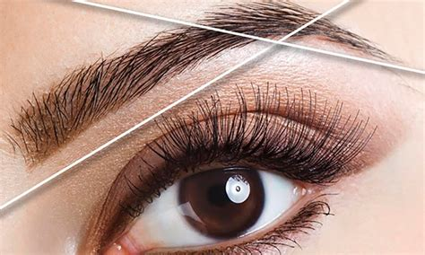 eyebrow threading sweet salon groupon