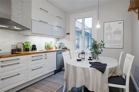 Scandinavian style kitchen design: useful ideas, rules and