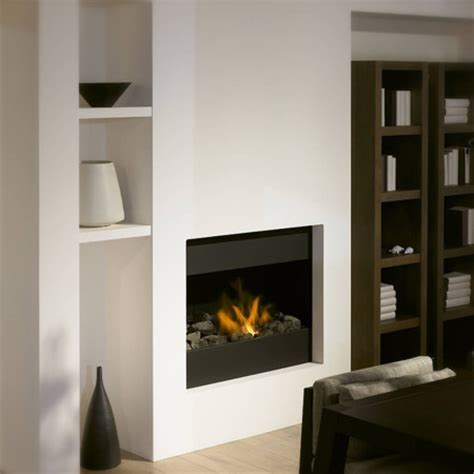 mod95 in the wall fireplace high efficiency gas