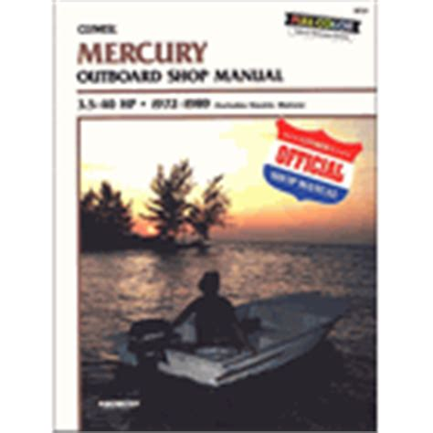 Mercury Outboard Service Manual Online Low Prices