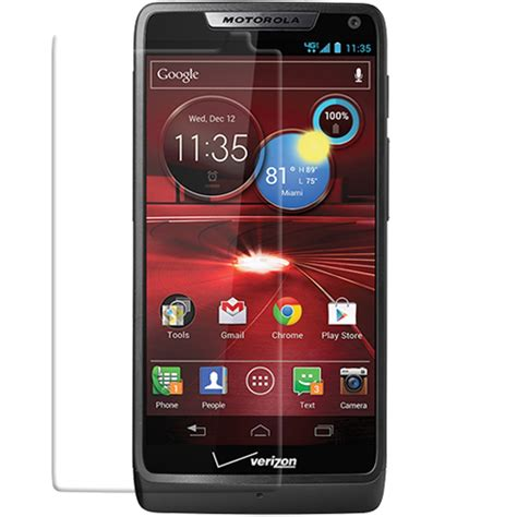 Japan Advance Clear Screen Guard Motorola Droid Razr motorola droid razr m screen protector pdair 10 free shipping