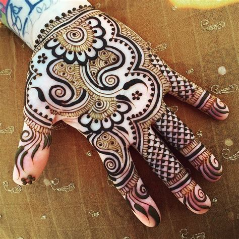 Designing The Beautiul by Simple Mehndi Designs One Hand Mehndi Designs New
