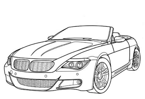 Coloring Pages Of Classic Cars | classic car coloring pages az coloring pages