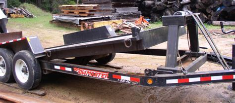 winching machine  tilt trailer question page