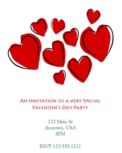 Valentines Card Template Microsoft by Funeral Program Templates Ms Word Version