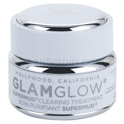 Glamglow Detox Mask by Glam Glow Supermud Cleansing Mask For Skin
