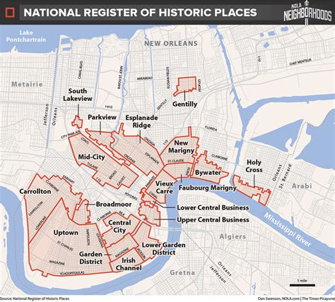 sections of new orleans how do we map new orleans let us count the ways nola com
