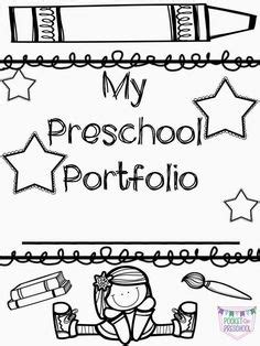 What To Include In An Infant Toddler Or Preschool Portfolio The Best Of Pre K Pinterest Children S Portfolio Template Free