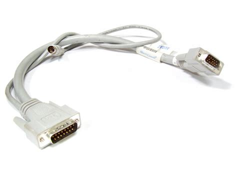 Konektor Db15 2 Baris Kabel Db 15 Cable Soket Socket kvm cable vga db15 to ps 2 connector adapter master