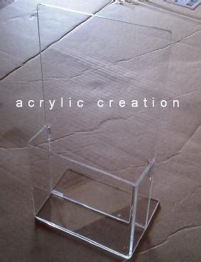 tempat brosur tb 24 acrylic akrilik acrylic display