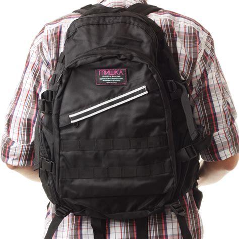 Backpack Mishka worked and paid mishka panzer backpack