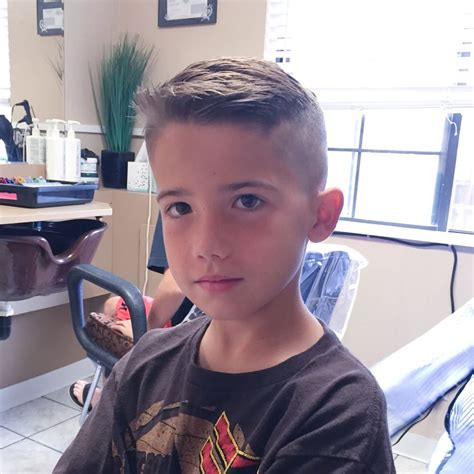 My sons new undercut. Great for a stylen little boy   Yelp