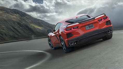 pictures of the 2020 chevrolet corvette 2020 chevy corvette went mid engine for both times and