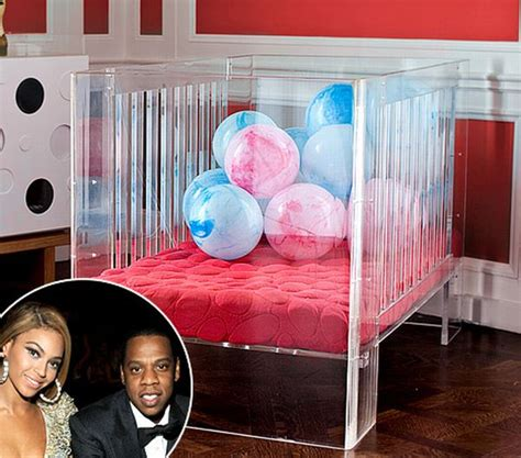 2200 Square Foot House by Beyonce Buys A 3 500 Lucite Crib For Her Baby Blue