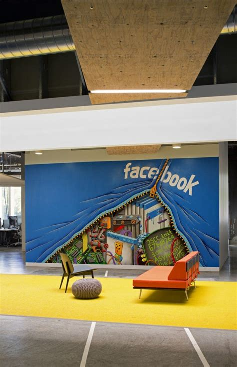 facebook office design inside facebook s menlo park headquarters office snapshots