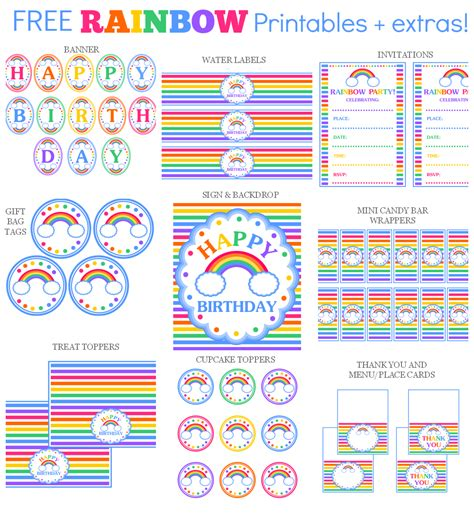 free printable birthday cards you can add photos the free printable set includes invitations gift tags