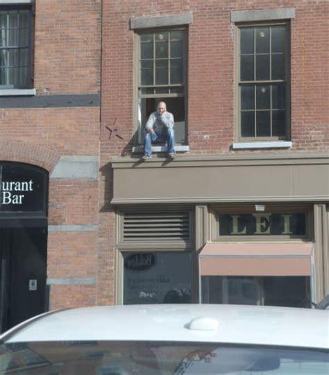 Window With Ledge Cops Take Suicidal Window Ledge Smoker To Psych Ward