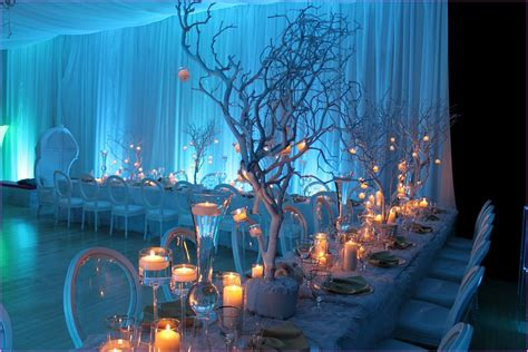 winter wonderland party decor