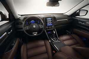 Renault Koleos Interior 2017 Renault Koleos Picture 674099 Car Review Top Speed