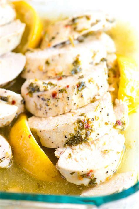 baked chicken breast recipes easy lemon garlic baked chicken breast recipe