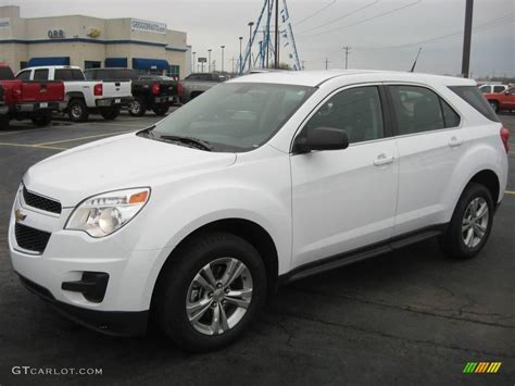 chevrolet equinox white 2010 summit white chevrolet equinox ls 27449455