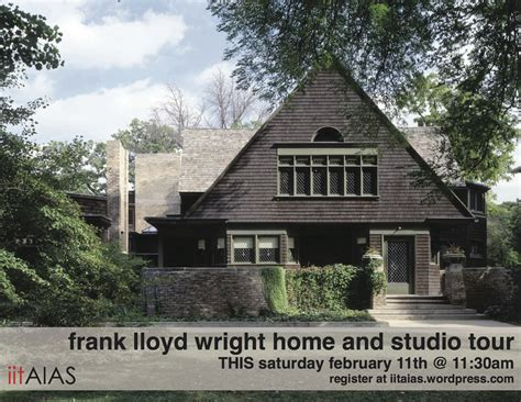 frank lloyd wright home and studio february 11th iitaias