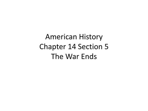 chapter 25 section 3 the war in the pacific ppt american history chapter 14 section 5 the war ends