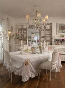 fabric covered chandelier shabby chic dining room ideas awesome tables chairs and