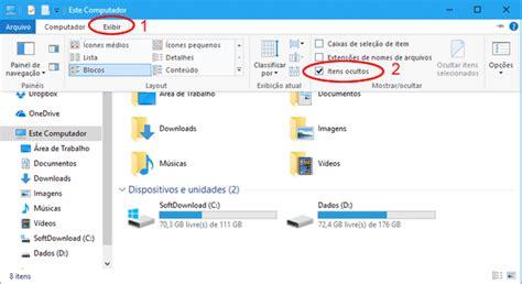 ver imagenes ocultas windows 7 como exibir arquivos e pastas ocultas no windows