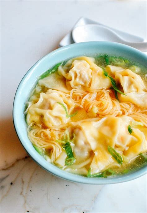 wonton noodle soup recipe dishmaps