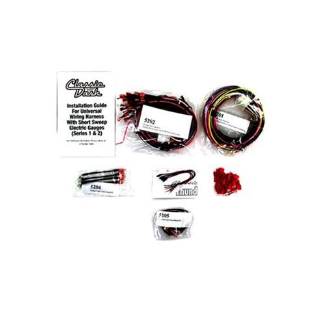 Classic Dash Mustang Wiring Harness Amp Led Kit 79 86 5200
