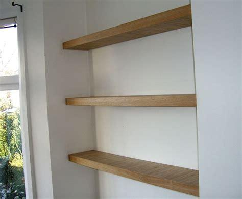 oak bathroom shelves best 25 oak floating shelves ideas on walnut